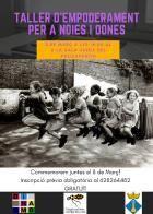 Taller gratuït d'apoderament amb perspectiva de gènere al Pla del Penedès