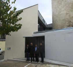 Finalitzen les obres de rehabilitació de l'edifici annex de la Torre medieval de Moja