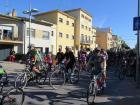 Més de 500 persones van participar a la bicicletada de Santa Margarida i els Monjos