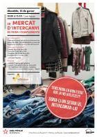 El Casal Popular de Vilafranca acollirà el segon Mercat d'intercanvi de roba