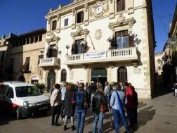 Minut de silenci a Vilafranca en solidaritat i dol per les víctimes de la llevantada a Catalunya