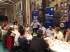 Més de 200 persones al sopar del PDeCAT de dijous passat a Cal Figarot