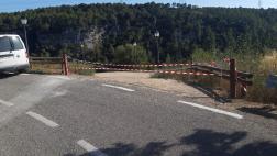 L'Ajuntament de Sant Martí Sarroca tanca l'aparcament del castell