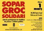 El Sopar Groc de Vilafranca amplia l'aforament amb 100 places més