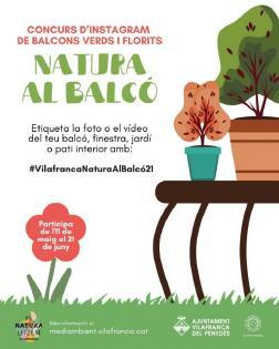 """Comença la campanya """"Renaturalitzem Vilafranca"""" amb un concurs d'Instagram"""