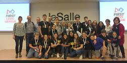 L'escola Vedruna de Sant Sadurní, classificada per la final estatal First Lego League de robòtica