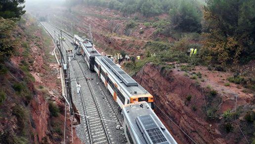 El Descarrilament D Un Tren A Vacarisses Provoca Afectacions A Tota